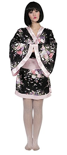 Japanerin Kimono Yuki Kostüm für Damen Gr. 40 42