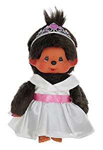 Sekiguchi 242061Monchhichi Blanca Princesa, Juego, 20cm