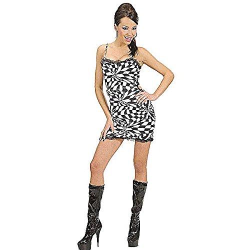 Kostüm 70er-Jahre Disco-Kleid, Größe S