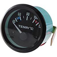 """Medidor de temperatura de aceite de centigrado - SODIAL(R)2"""" 52MM medidor de LED de temperatura de aceite de coche"""