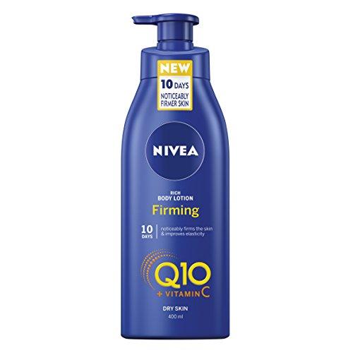 Foto de Nivea Rich Crema Hidratante de cuerpo de masaje reafirmante Q10Plus Vitamina C, 400ml
