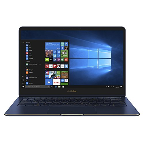 "ASUS UX370UA-C4170T - Ordenador portátil convertible de 13.3"" Full HD (Intel Core i7-7500U, RAM de 16 GB, 256 GB SSD, Intel HD Graphics, Windows 10 Pro Original) azul real - teclado QWERTY Español"