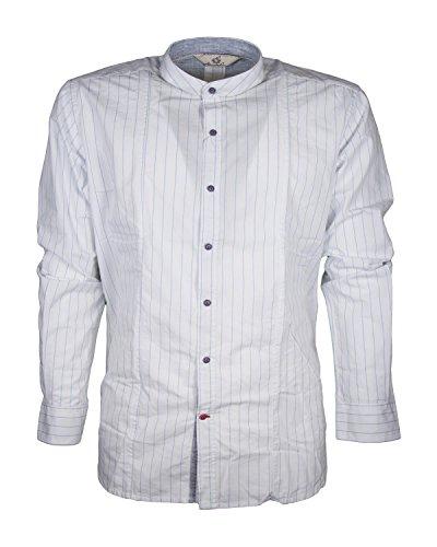 Camicia alessandro lamura babba34 133 slim fit coreana a righe