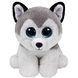 Ty Beanie Babies Buff, Peluche Husky, 15 cm (United Labels Ibérica 42183TY)