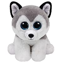 TY - Beanie Babies Buff, peluche husky, 15 cm (United Labels Ibérica 42183TY