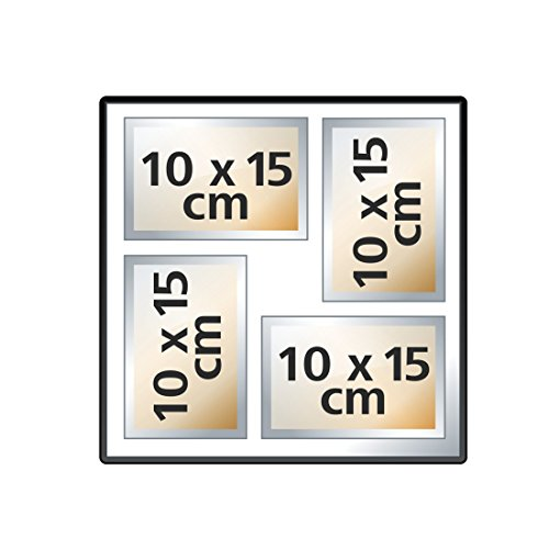 confronta il prezzo Hama La Fleur Black photo album - photo albums (Black, 100 sheets, 10 x 15, 400 sheets, 300 mm, 300 mm) miglior prezzo