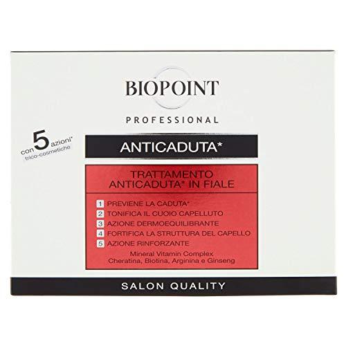Biopoint Tratamento Capeli Anticaduta in fiale - 10 x 7 ml.