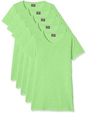 KUSTOM KIT Camiseta para Mujer (Pack de 5)