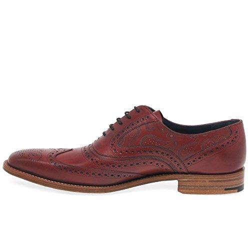 Barker , Chaussures de ville à lacets pour homme Red/Paisley
