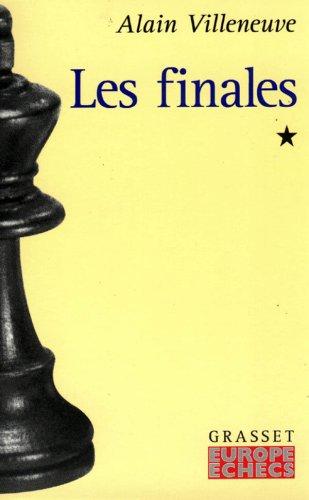 LES FINALES. Tome 1 par Alain Villeneuve