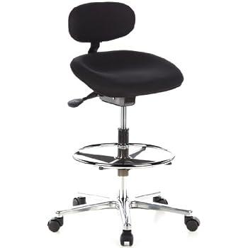 Varidesk Standing Desk Chair Varichair Black Amazon