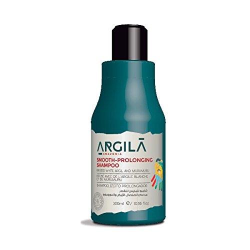 shampooing sans sel et paraben prolongateur de lissage Argila Amazonia, naturel à base d'argile blanche 300ml