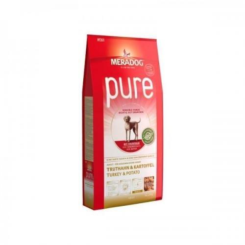 Mera Dog Pure Truthahn&Kartoffel getreidefrei 12,5 kg, Trockenfutter,Hundefutter