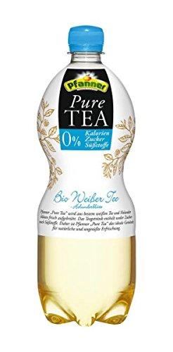 Pfanner Pure Tea Bio Weißer Tee Holunderblüte 6x1l inkl. Pfand