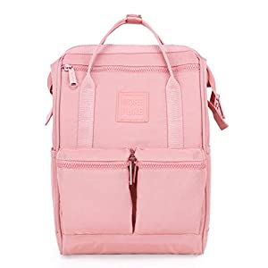 41rbpTyLZVL. SS300  - DISA Mochila Mini Bolsa Pañal Viajar Mujer   35x23x15cm   Tropical, Rosa