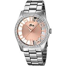 Lotus 18126/1 - Reloj de pulsera Mujer, Acero inoxidable, color Plateado