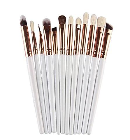 LONUPAZZ 12 pcs/set maquillage brush set makeup brushes kit outils maquillage professionnel maquillage pinceaux yeux pinceau pour les lèvres