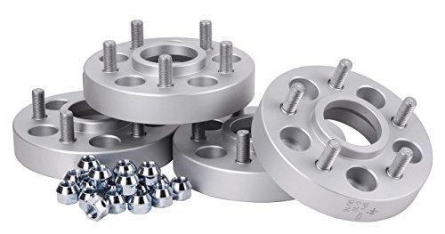 avec expertise T/ÜV Lot de 4 /élargisseurs de voie en aluminium 30 mm par rondelle // 60 mm par axe