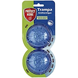 Protect Home Baythion Trampa Antihormigas En Forma De Gel Para Interiores Y Exteriores, Verde Agua, 2x11.3x26 cm