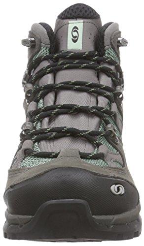 Salomon  Comet 3D Lady GTX, Chaussures de trekking et randonnée femmes Multicolore (Lichen Green/Autobahn/Lichen Green)