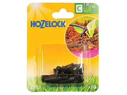 Hozelock 4 mm/13 mm End Line Dripper (Pack of 10)
