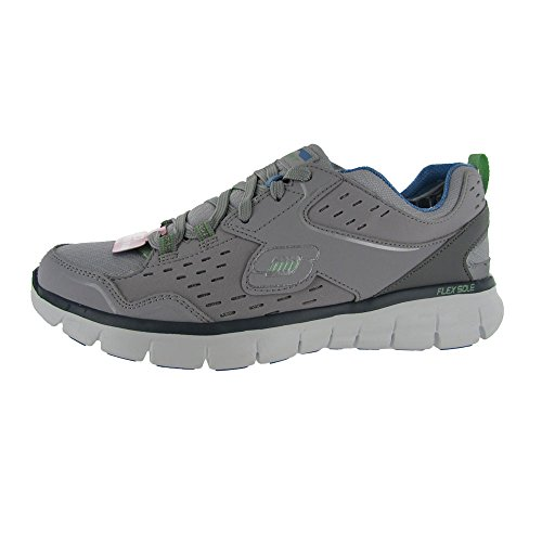 Skechers USA Synergy - Front Row Damen Sneaker Grigio