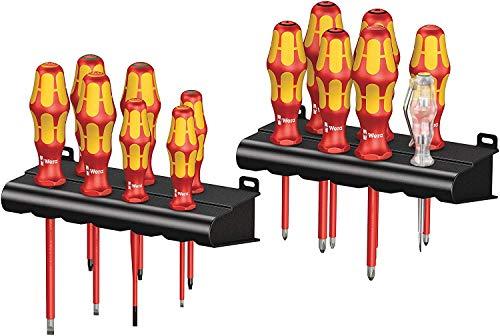 Wera Kraftform Big Pack 100 VDE, Schraubendreher Set 14-teilig, 05105631001