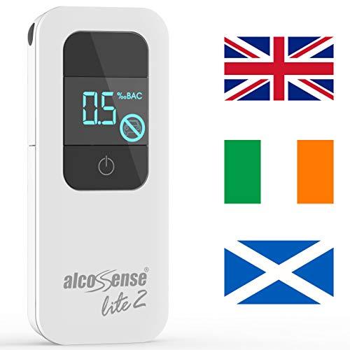 AlcoSense Lite 2 Breathalyzer & Alcohol Tester for UK, Ireland and Scotland