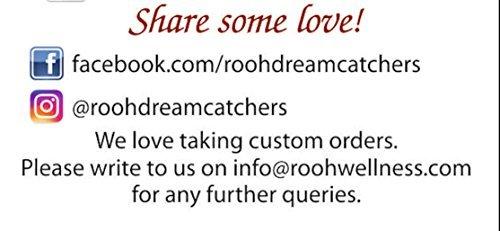 Rooh Dream Catcher ~ Vegan Pink ~ Handmade Hangings for Home Decor, Wall  Hangings, Garden, Car, Outdoor, Bedroom, key chain, Meditation Room, Yoga