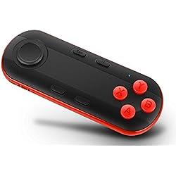 Controlador VR, JoyGeek Bluetooth VR Gamepad Control remoto inalámbrico Compatible con VR Headset, Gafas 3D, Google Cardboard, Android y iOS Tablet PC para jugar videojuegos