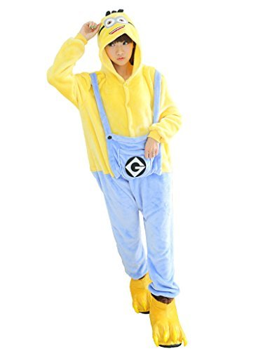 Kostüm Party Schlafanzüge Kigurumi Cosplay Schlafanzüge MINIONS L (Minion Halloween Kostüme)