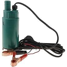 B Blesiya Bomba de Combustible Diesel Sumergible 30L / Min para Maquinaria de Construcción Tractor de