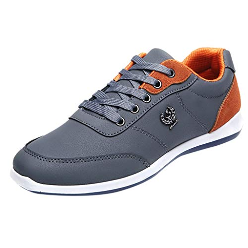 ABCone Scarpe uomo Sportive, Scarpe Running Sneakers Scarpe Uomo Sneakers con Sportive Lace-Up Ragazzo Vintage Calzature Casuale Palestra Moda Basse Scarpe Slip on Flats