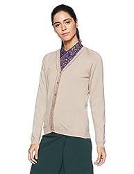 Monte Carlo Womens Wool Cardigan (1170710VN-1_Light Brown_38)