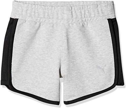 Puma Mädchen A.C.E Shorts, Light Gray Heather, 128