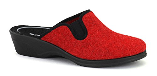 Romika 6201370/400, Pantofole donna Rot