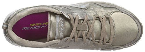 Skechers SynergyMasquerade, Sneakers basses femme brown (BRZ)