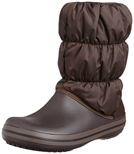 Crocs Winter Puff Boot Women, Damen Schneestiefel, Braun (Espresso/Espresso), 39/40 EU (Womens Snow Boots Clearance)