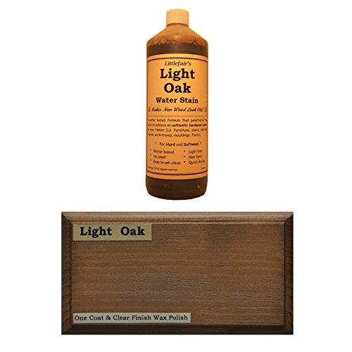 littlefairs-environmentally-friendly-water-based-wood-stain-dye-500ml-light-oak