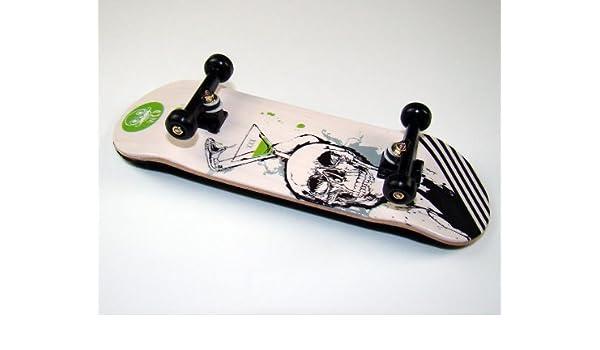 KOMPLETT Fingerskateboard WORLD-CREATIVE #4 XXX Deck Achsen SWZ ROLY-POLY Wheels SWZ von FREEFINGERS/® Handmade Wood Fingerboard