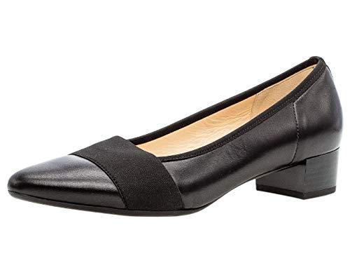 Gabor Damen Pumps 31.432, Frauen Court-Shoes,Absatzschuhe,Abendschuhe,Stöckelschuhe,schwarz,38.5 EU / 5.5 UK