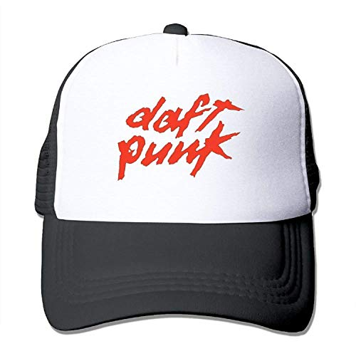 HENBEERS Daft Punk Summer Sun Protection Mesh Cap Baseball Hat Cap Adjustable