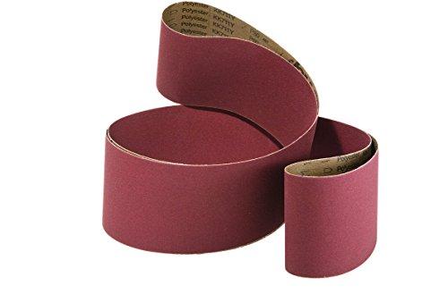 Band Standard in Leinwand Schleifpapier Korund (70Varianten, ab 4,50Euro/CAD)–Körnung 240, Abmessungen 2000x 75mm (20Stück, 6.60EUR/CAD)