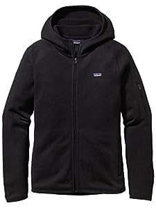 Patagonia–Better Sweater Hoody, Schwarz, Gr. uk-20