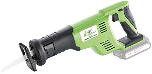 AGT Professional Akku Fuchsschwanz: Akku-Säbelsäge-Set AW-18.sl, GS, mit Li-Ion-Akku & Schnell-Ladegerät (Stichsägen) - 2