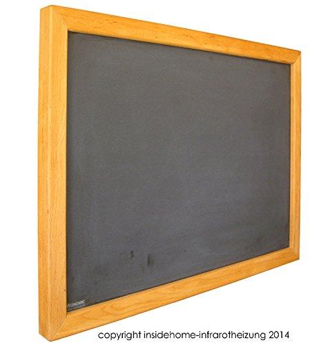 Infrarotheizung Tafel mit Holzrahmen aus Buche, 400 Watt - 70x60x2,5 cm