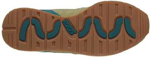 KangaROOS Coil-R2 Unisex-Erwachsene Sneakers Grün (morel/sand 811)