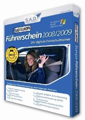 Führerschein 2008/2009, CD-ROM in Papp-BoxDer digitale Fahrschultrainer. Für Windows 98/ME/2000/XP/Vista