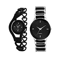 RJL_wrist watche for couple stylish