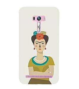 EPICCASE Grumpy female Mobile Back Case Cover For Asus Zenfone Selfie (Designer Case)